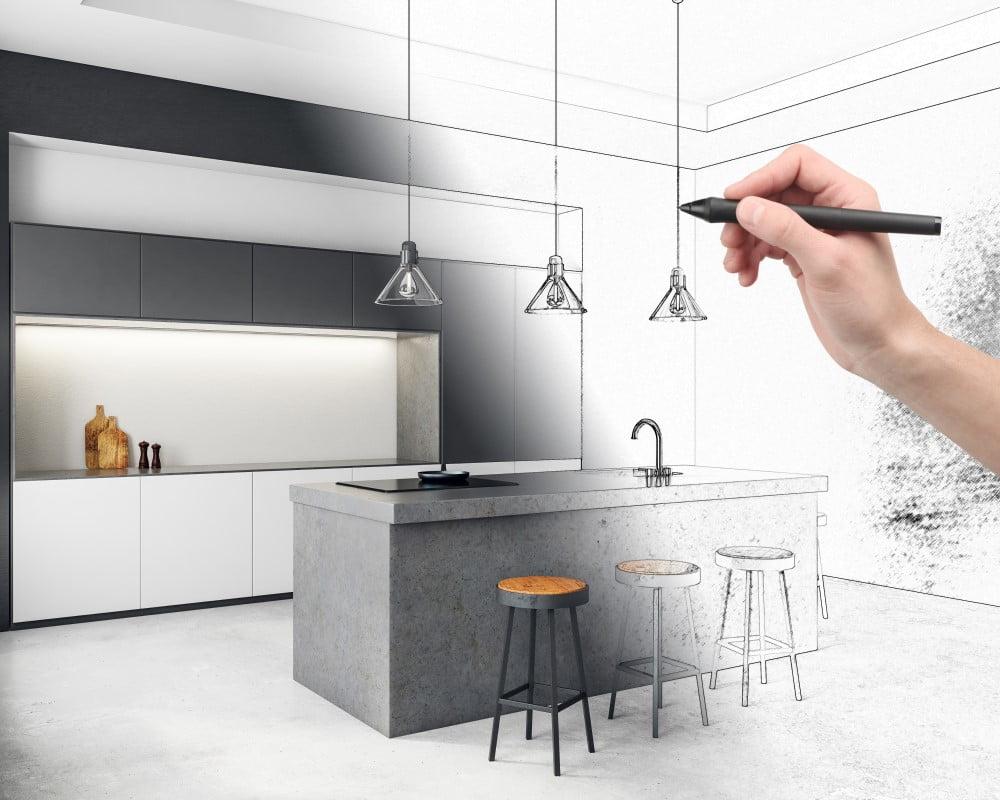 Køkken sketch