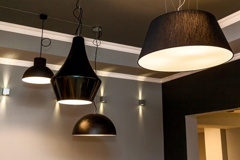 forskellige lamper